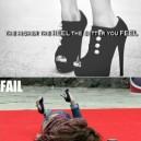 High Heel Fail