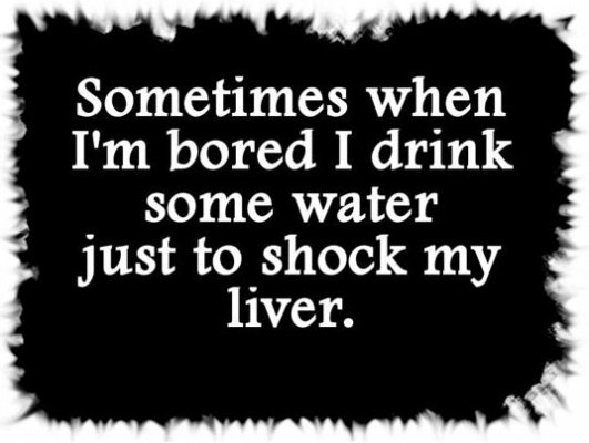 When I'm Bored…