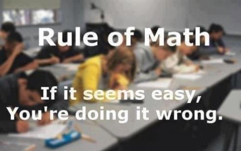 The Rule of Math