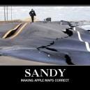 Sandy – Making Apple Maps Correct