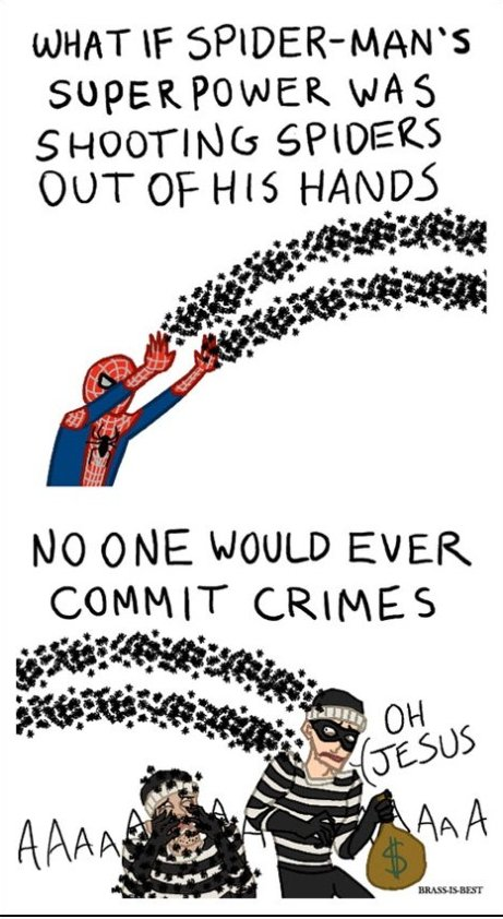 Better Super Power for Spider-Man