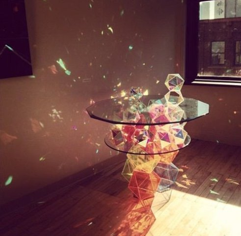 Stunning Sparkling Crystal Table