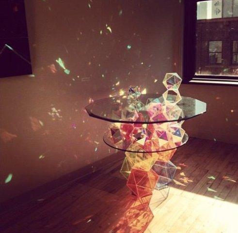 Stunning Sparkling Crystal Table