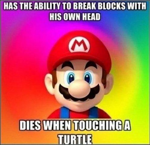 Scumbag Super Mario