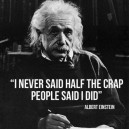 Wise words was never spoken