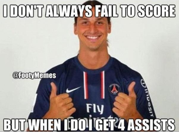 Awesome Zlatan Ibrahimovic