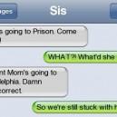 Mom's in prison