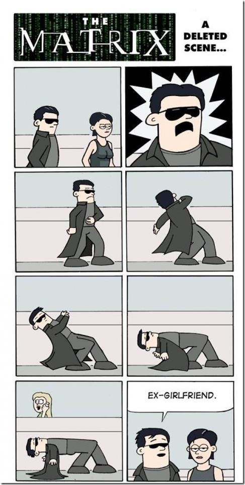 A deleted Scene from the Matrix