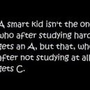 A smart kid