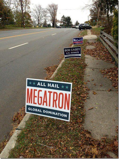 All Hail Megatron!
