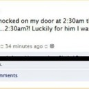 Annoying neighbour