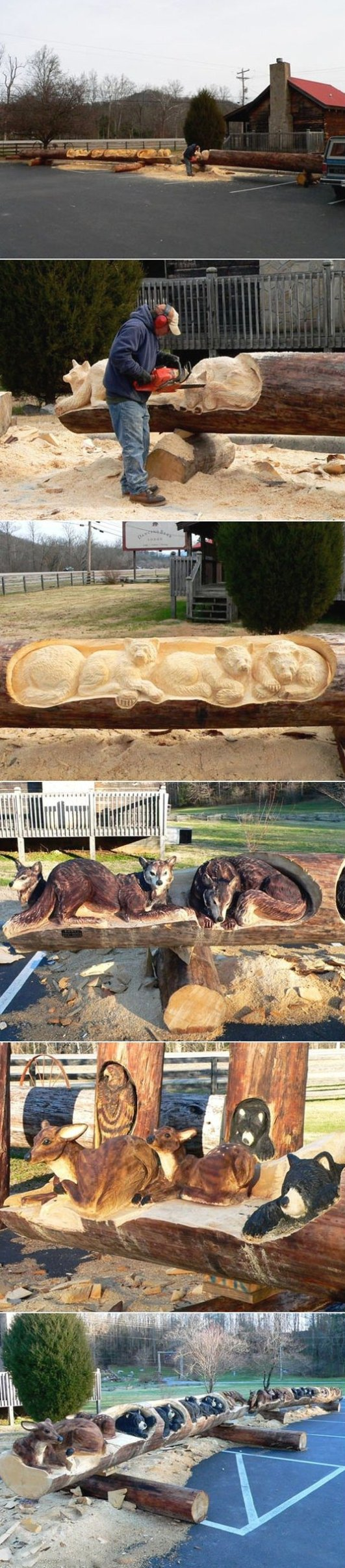 Art with a chainsaw