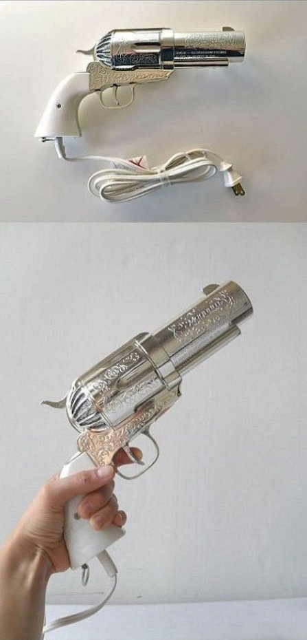 Badass hair dryer