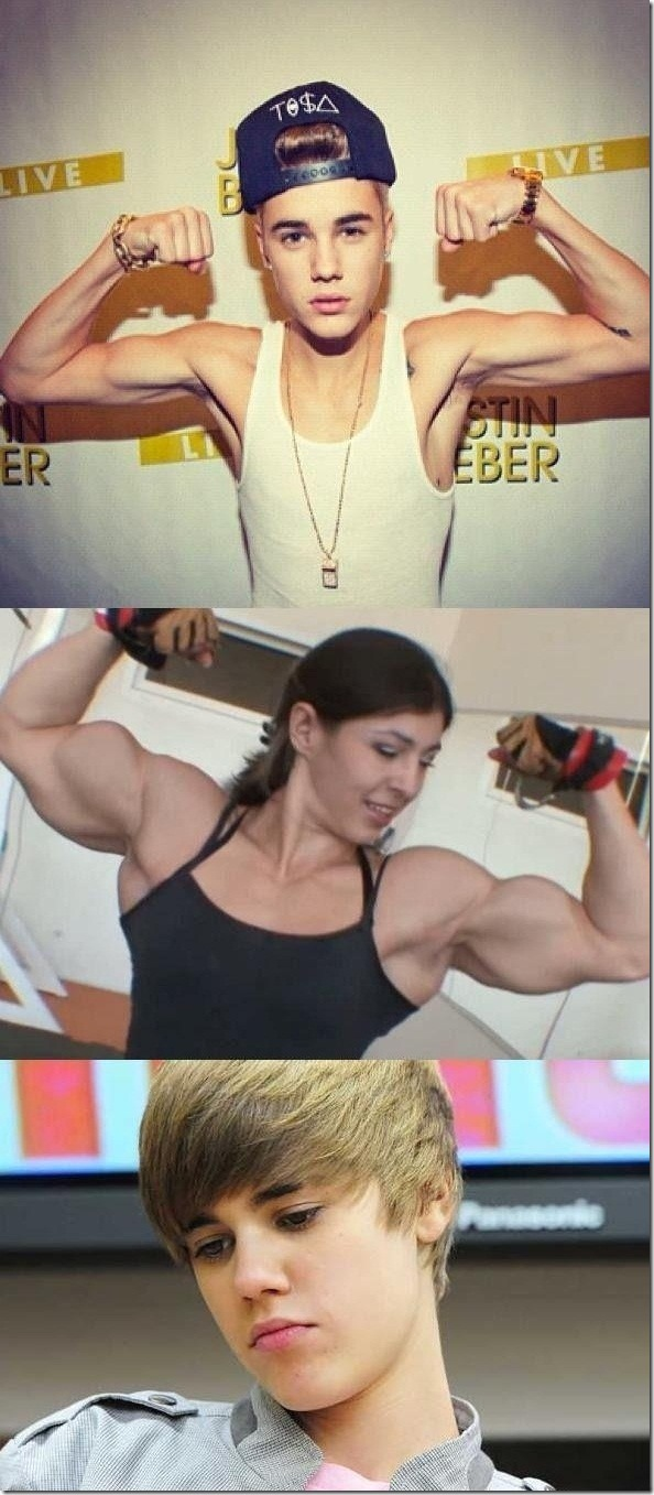 Body Building Level Justin Bieber
