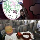 Closer Look Inside Hello Kitty Airlines