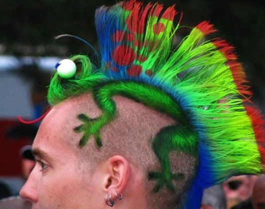 Different Kind of Hairstyle