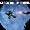 E.T. vs. Iron man