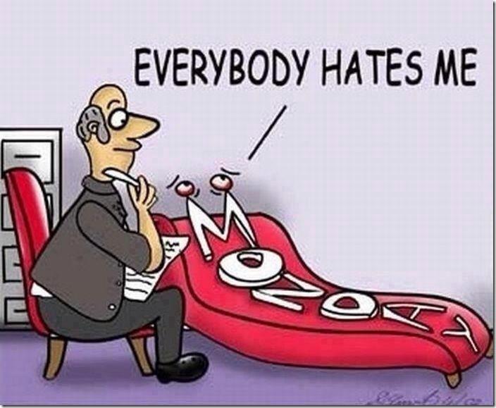 Everybody hates me…