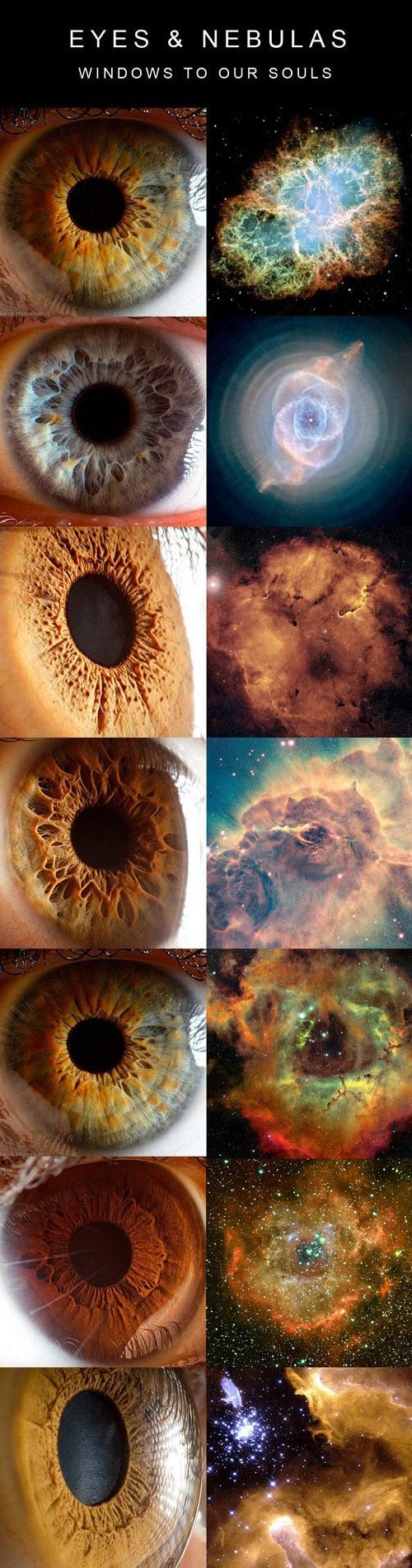 Eyes and Nebulas
