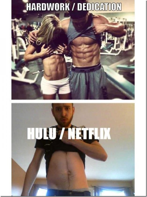 Hardwork/Dedication vs. HULU/Netflix