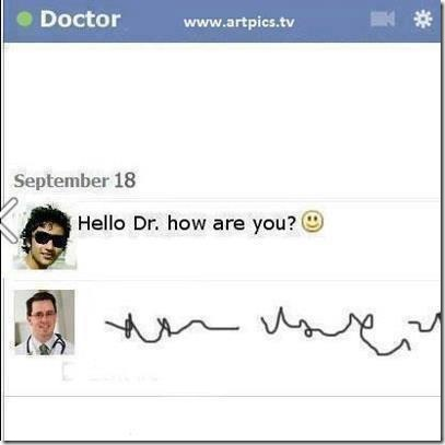 Hello Doctor, how are you?