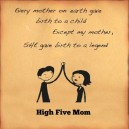 High Five Mom!