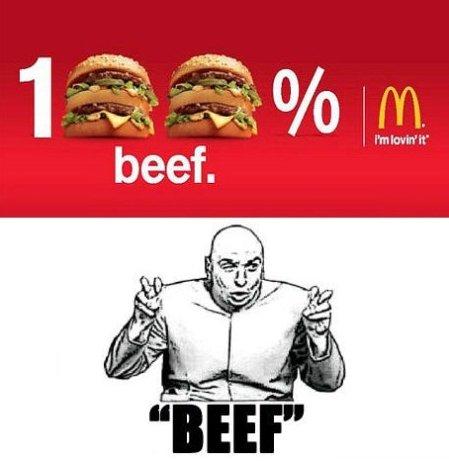 McDonalds burgers