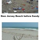 New Jersey Beach Before vs. After Sandy