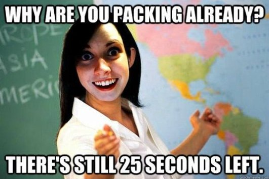 Overly Attached Teacher