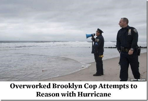 Overworked Brooklyn Cop