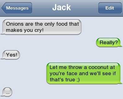 Owned by a coconut