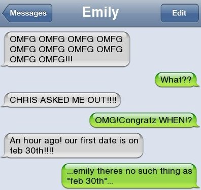 SMS – The Date