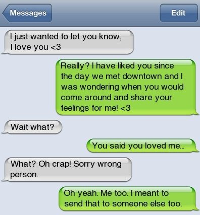SMS – Wrong Number