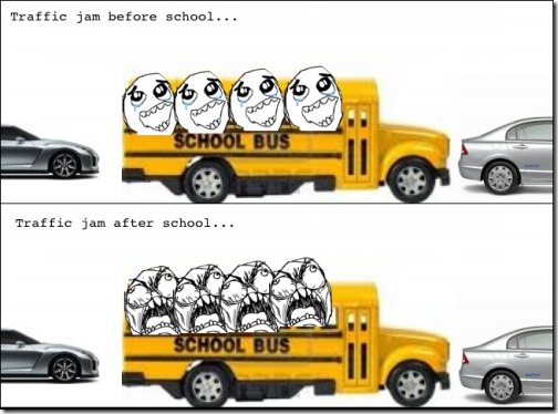 School Bus Traffic