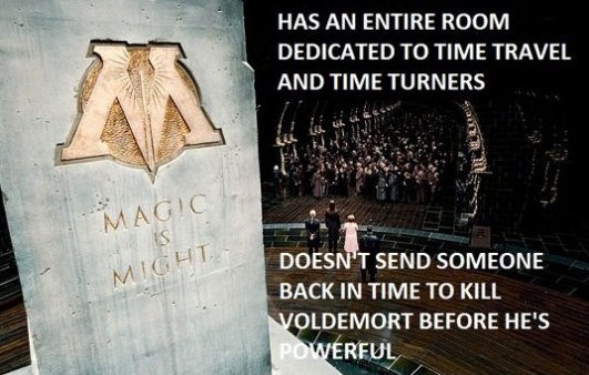 Scumbag Ministry of Magic