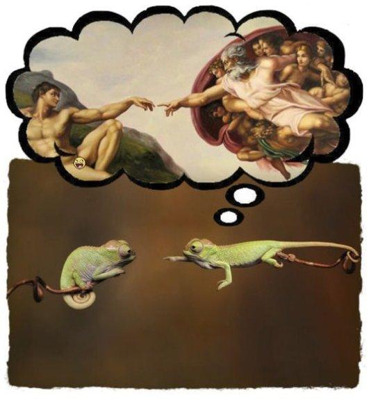Sistine Chameleon