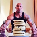 The Rock vs. Pancakes