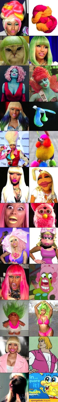 Things that look like Nicki Minaj