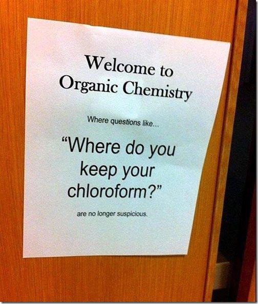 Welcome to Organic Chemistry