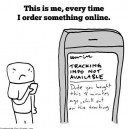 When I order something online