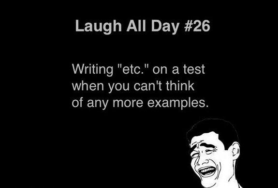 Writing etc.