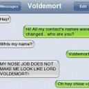 iPhone SMS Nose job
