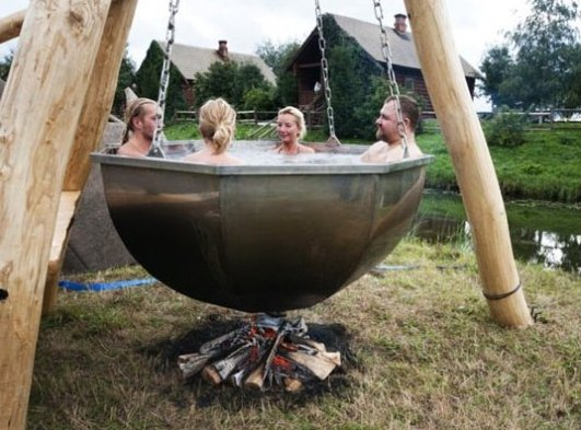 A new kind of hot tub
