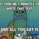 After I write a long text message
