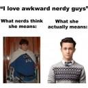 Awkward Nerdy Guys
