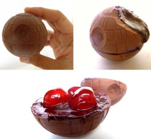 Chocolate Deathstar