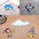 Creative Chalk Art