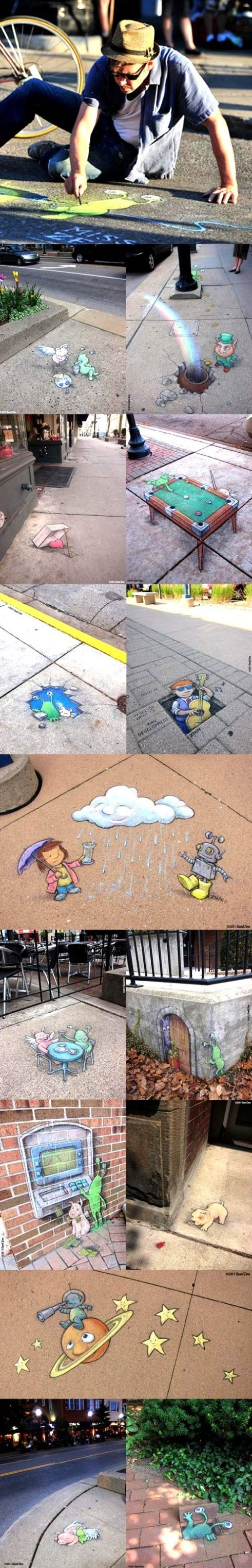 Creative Chalk Art