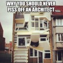 Don't mess with architects