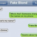 Fake Blond